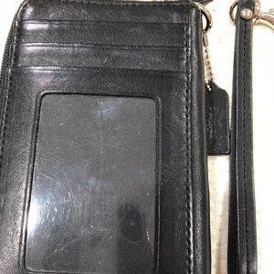 Coach wristlet/card holder